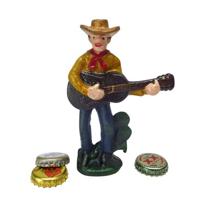 Cactus Pete The Cowboy Bottle Opener by Design Toscano