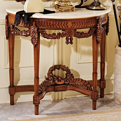 Chateau Gallet Console Table by Design Toscano