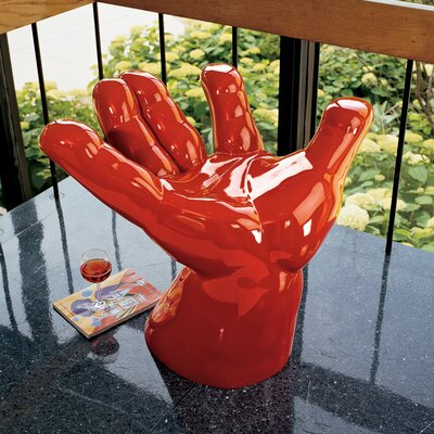 Design Toscano Caught Red Handed Accent Stool