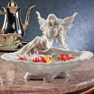 The Fairy's Font Decorative Bonded Marble Resin Font Statue by Design Toscano