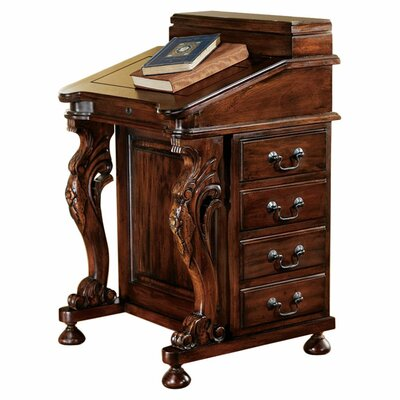 Design Toscano The Captain's Davenport Hinged Top Desk
