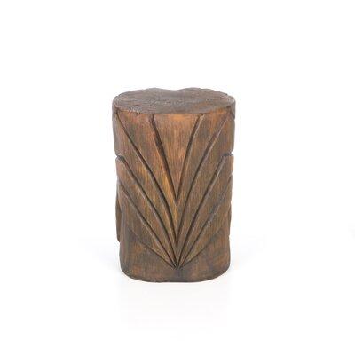 Design Toscano The Grand Tiki Teeth Sculptural Side Table