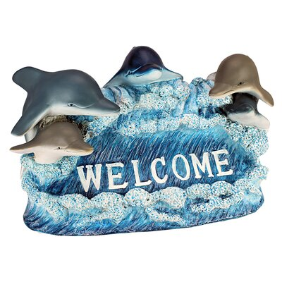 Design Toscano Dolphin Welcome Figurine