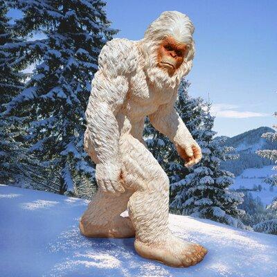 Design Toscano Abominable Snowman Yeti Statue