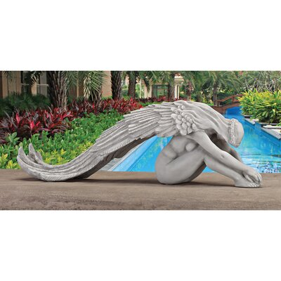 Extended Grace Angel Statue by Design Toscano