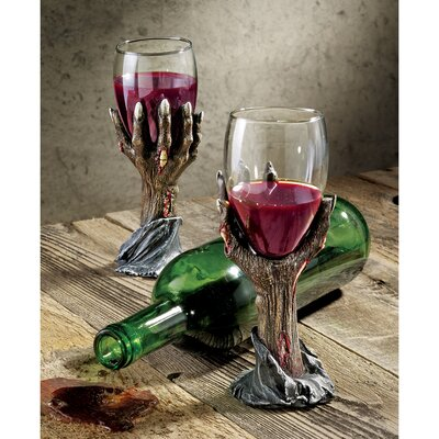 Toast of the Zombie Goblet by Design Toscano