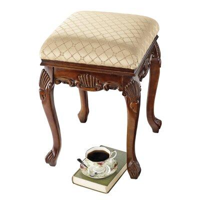 Design toscano madame bouvier boudoir stool reviews for Boudoir stoel