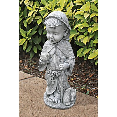 Baby Saint Francis Statue by Design Toscano
