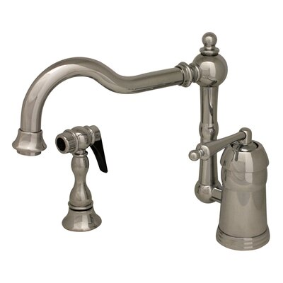 Legacyhaus One Handle Single Hole Kitchen Faucet with Side Spray Product Photo