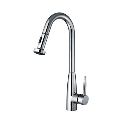 Jem Single Handle Faucet with Gooseneck Swivel Spout by Whitehaus Collection