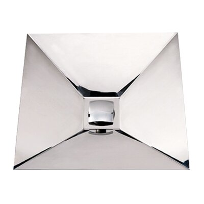 Noah 39 s square polished stainless steel bathroom sink wayfair - Square stainless steel bathroom sink ...