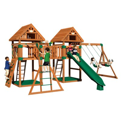 Kings Peak All Cedar Swing Set Product Photo