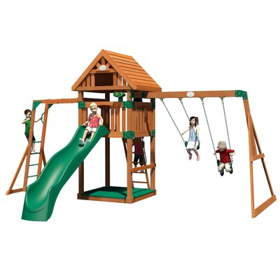Capitol Peak All Cedar Swing Set Product Photo
