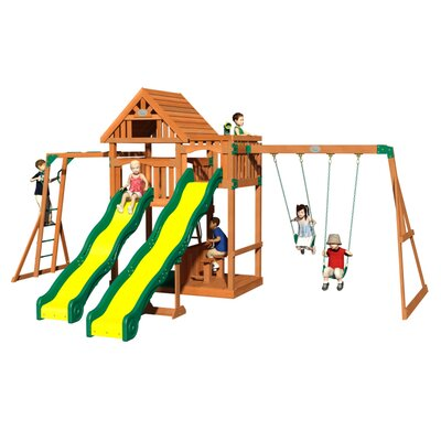 Crestwood All Cedar Swing Set Product Photo