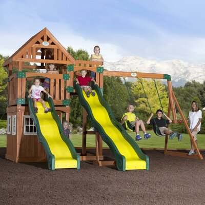 Journey Cedar All Cedar Swing Set Product Photo