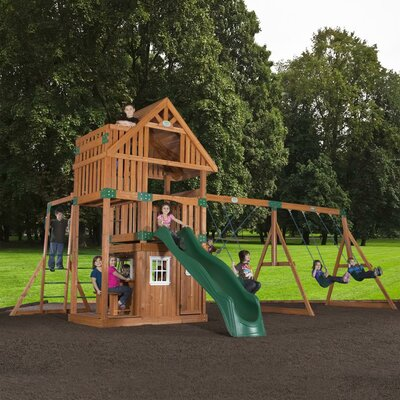 Wanderer Cedar All Cedar Swing Set Product Photo