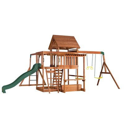 Monticello All Cedar Swing Set Product Photo