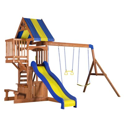 Peninsula All Cedar Swing Set Product Photo