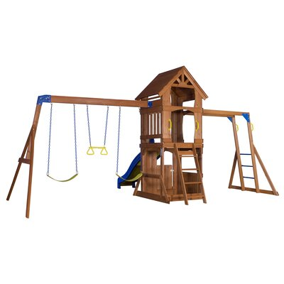 Parkway All Cedar Swing Set Product Photo