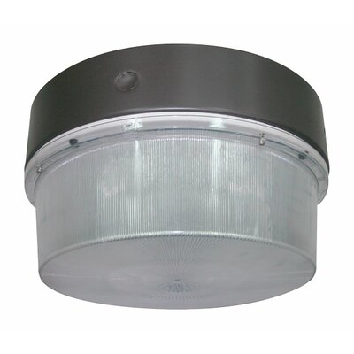 Deco Lighting 120W Round Luminaire Induction Flush Mount in Bronze