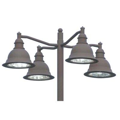 Deco Lighting Belltino 150W Outdoor Pendant in Dark Bronze