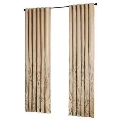 Madison Park Andora Rod Pocket Curtain Panel