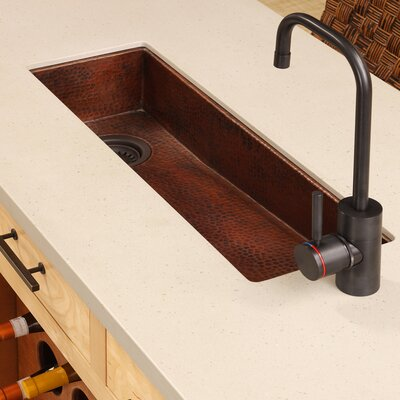 "Renewal 30"" x 11"" Rio Chico Copper Bar Sink Product Photo"