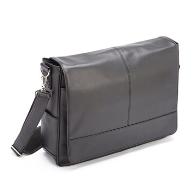 Genuine Leather Laptop Messenger Bag by Royce Leather