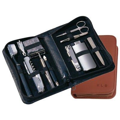 Royce Leather Personalized Executive Travel Shaving Kit