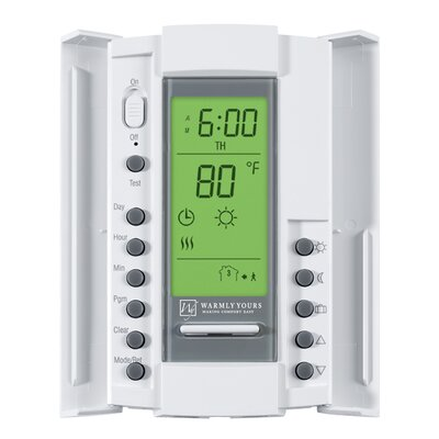 SmartStat Programmable Digital Thermostat for In-Floor Heating System Product Photo