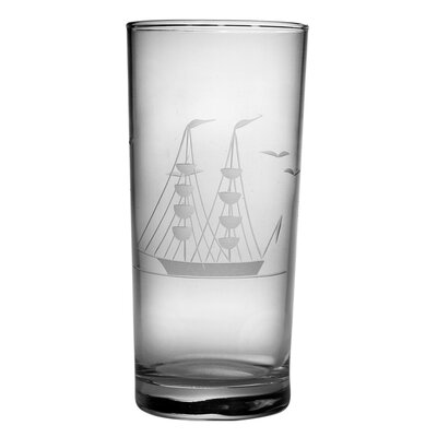 Susquehanna Glass Clipper Ship 15 oz. Hi-Ball Glass