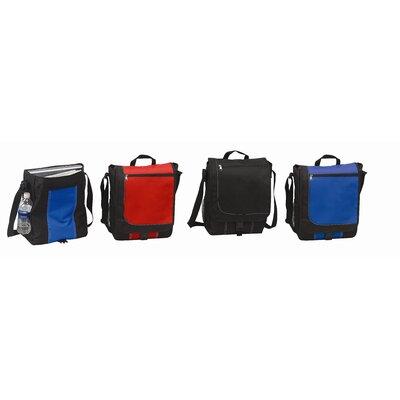 """Preferred Nation 11"""" Messenger Bag with 1 Zippered Pocket & 1 Mesh Pocket"""