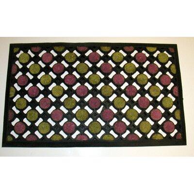 Coco Dots Doormat by Geo Crafts