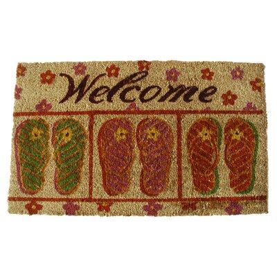 Flip-Flop Welcome Doormat by Geo Crafts