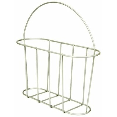 Magazine Rack with Handle by Taymor