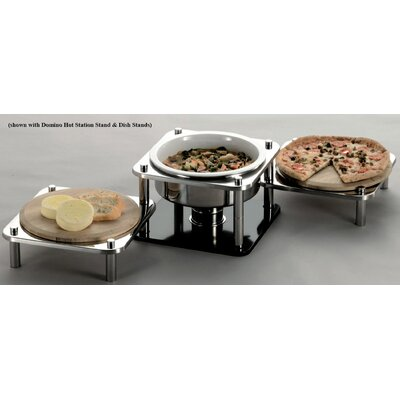 SMART Buffet Ware Domino 4 4/5-qt. Stainless Steel Round Hot Station