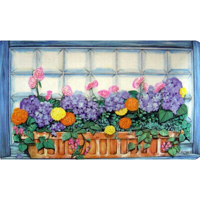 Custom Printed Rugs Window Box Doormat
