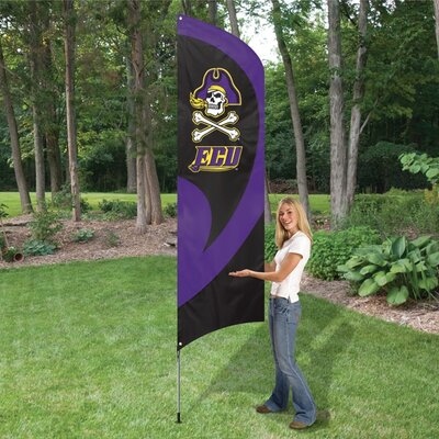 The Party Animal, Inc NCAA Tall Team Flag