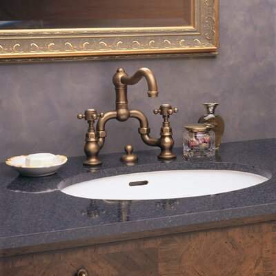 Rohl Country Bath Centerset Acqui Faucet with Levers Handle