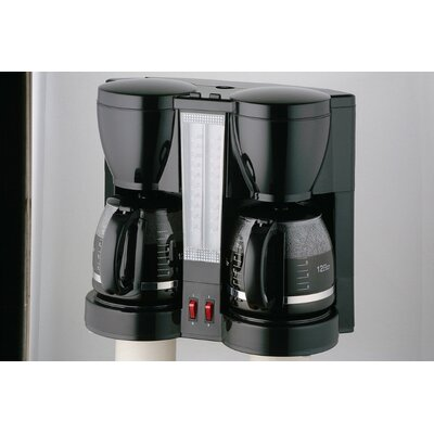 Specialty Electrics Double Carafe Coffee Maker by CucinaPro