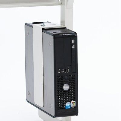 Bretford Manufacturing Inc Slim CPU Holder for Computer Table