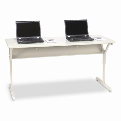 """Bretford Manufacturing Inc Connections 60"""" W x 24"""" D Training Table"""