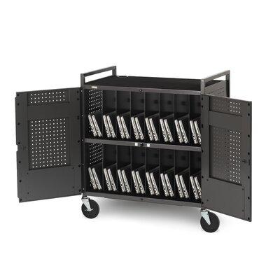 Bretford Manufacturing Inc 32-Compartment Laptop Storage Cart