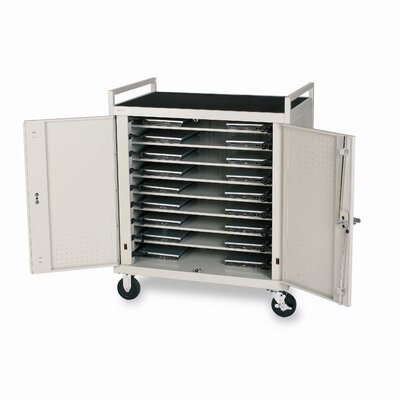 Bretford Manufacturing Inc 18-Compartment Laptop Storage Cart