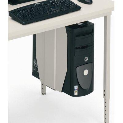 Bretford Manufacturing Inc Quattro Adjustable Tower CPU Holder for Rectangle Quattro Computer Tables