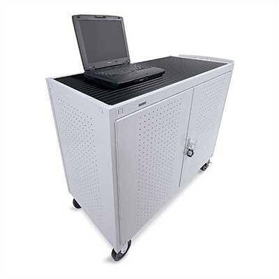 Bretford Manufacturing Inc 18-Compartment Laptop Storage Cart