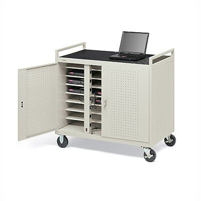 Bretford Manufacturing Inc 24-Compartment Laptop Storage Cart