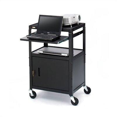 Bretford Manufacturing Inc UL Listed Adjustable Presentation AV Cart