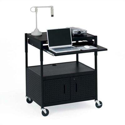 Bretford Manufacturing Inc Height Adjustable Multimedia Presentation AV Cart