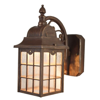 Melissa Kiss Series LED Outdoor Wall Lantern Reviews Wayfair